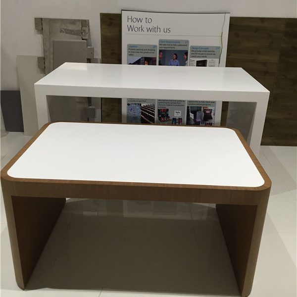 Commercial Retail High Tiered Nesting Display Tables Top Marketing Display Store Display Design Custom Retail Bags Display Design