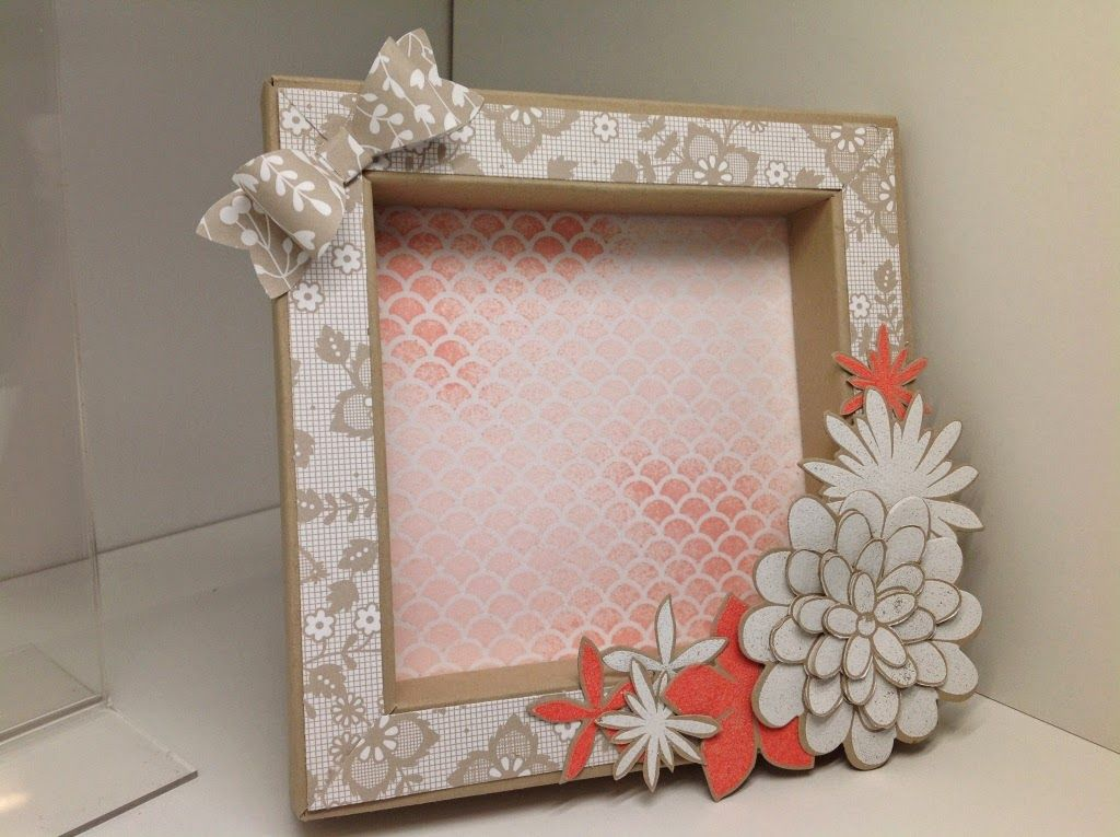 scrapatmosphere les ateliers cr atifs de catherine flower patch pour un petit cadre home. Black Bedroom Furniture Sets. Home Design Ideas