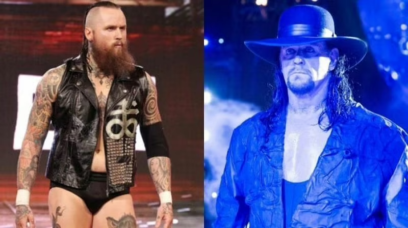 Undertaker Appears At Elimination Chamber 2020 Helps Aleister Black Defeat Aj Styles The Undertaker Has Once Again Via Www Aj Styles Undertaker Appearance