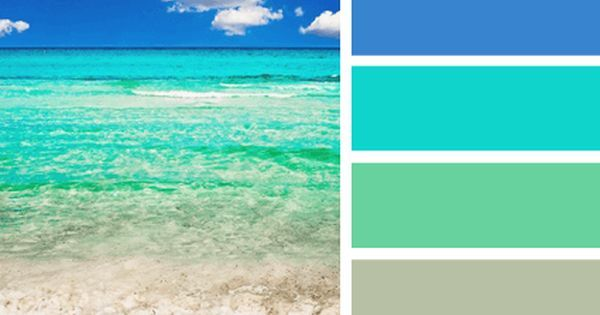 beach color palettes from the shore nature beaches and living rooms art decor diy on a. Black Bedroom Furniture Sets. Home Design Ideas