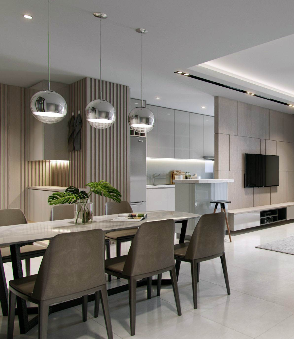 Condo Dining Living Room Design Ideas: Top 1 Bedroom Apartments 90048 Exclusive On Homesable.com