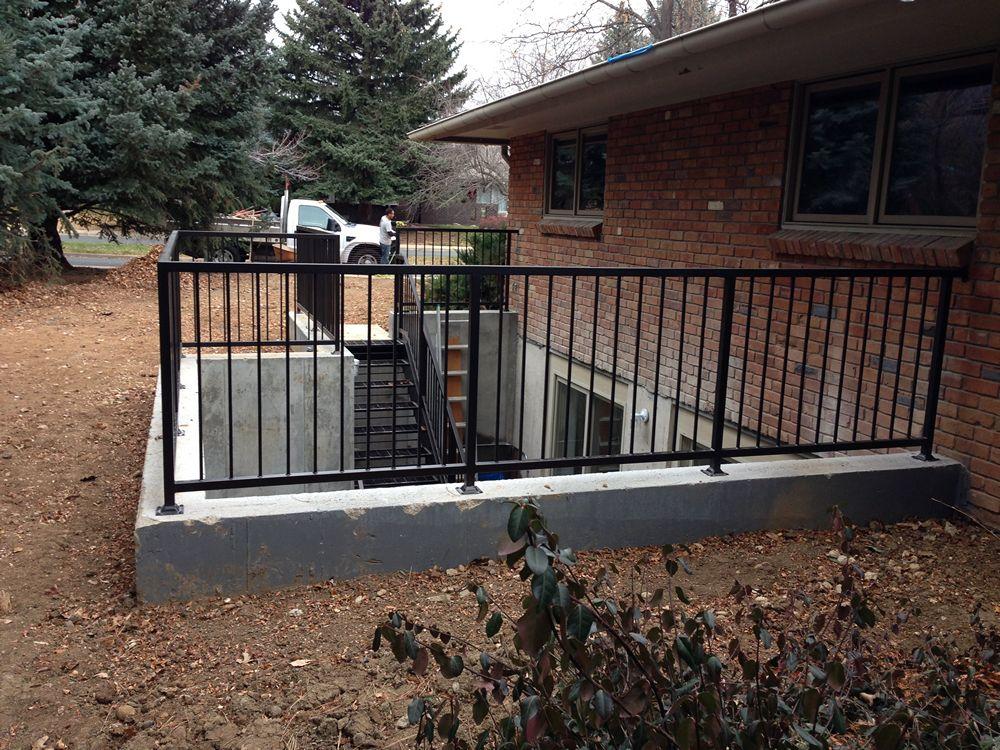 Denver Walkout Basements Sennett Windows Patio Stairs Basement Entrance Basement House Plans