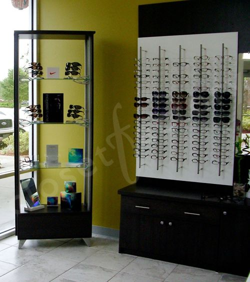 Closet Factory Orlando Helps A Doctor Create A Modern And High End  Optometry Office.