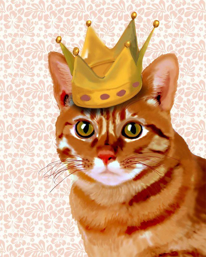 F Cute Kitten Art Print Home Decor Wall Art Poster