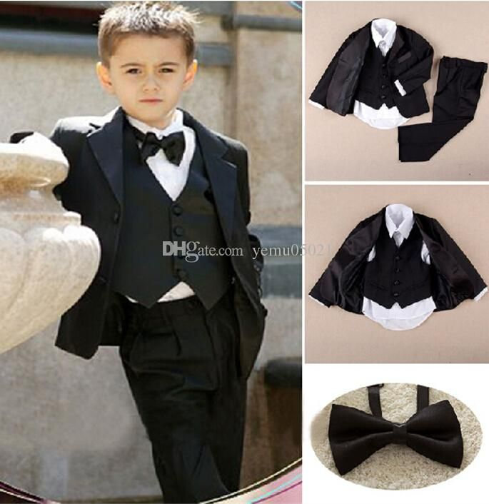 Custom Made Kid Notch Collar Children Wedding Suit Boys ...