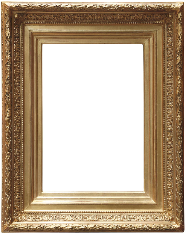 Vintage gold frame | Materials and textures | Pinterest