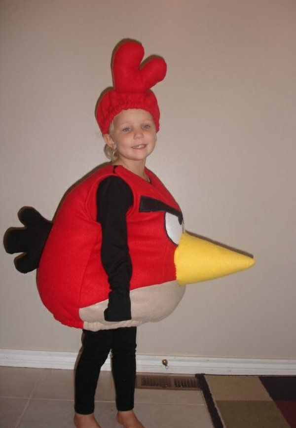 angry birds fasching karnevalskost me ideen diy halloween costumes pinterest verkleiden. Black Bedroom Furniture Sets. Home Design Ideas