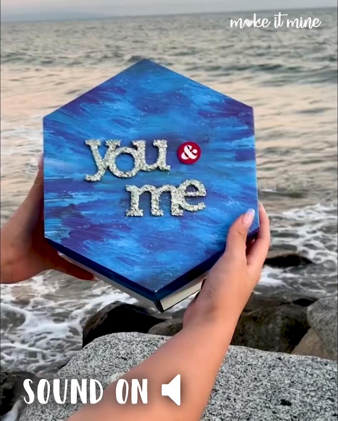 50% OFF JUST TODAY Hexagon Love Note #diygeburtstagsgeschenke