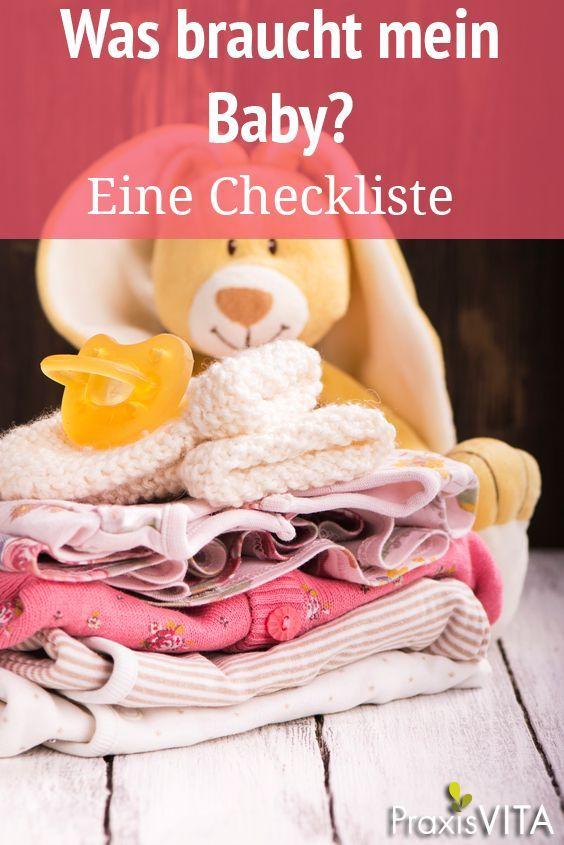 Baby-Erstausstattung - eine Checkliste | Baby ...