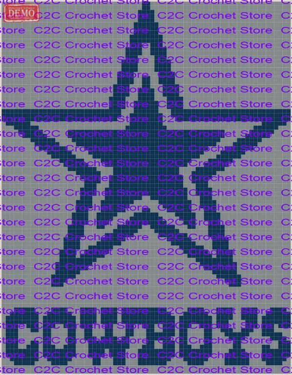 C2C Dallas Cowboys Graph Pattern