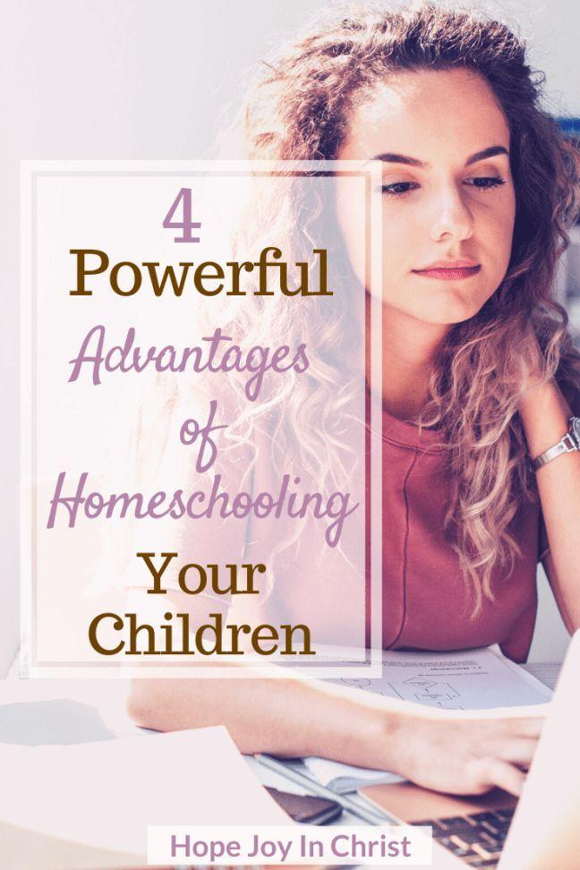 4 Reasons I Love Homeschooling Our Children - Hope