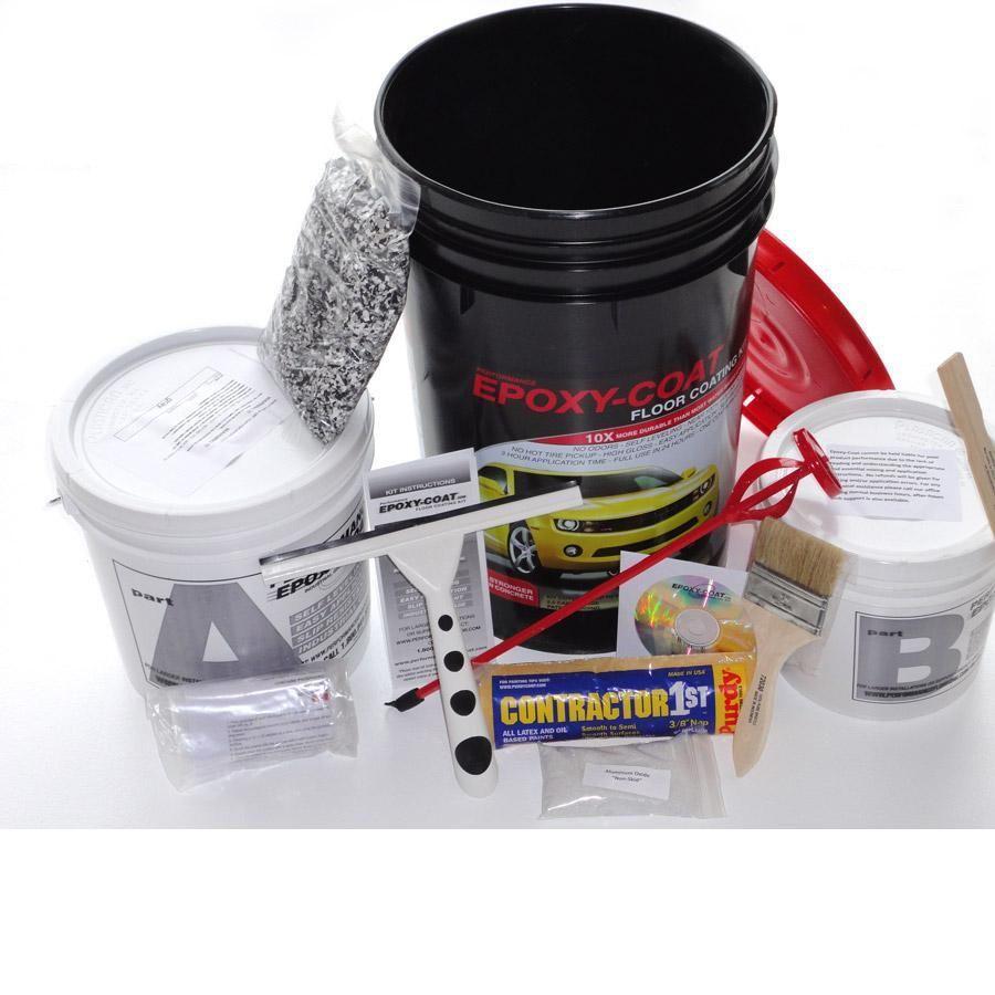 Gloss Garage Floor Epoxy Kit