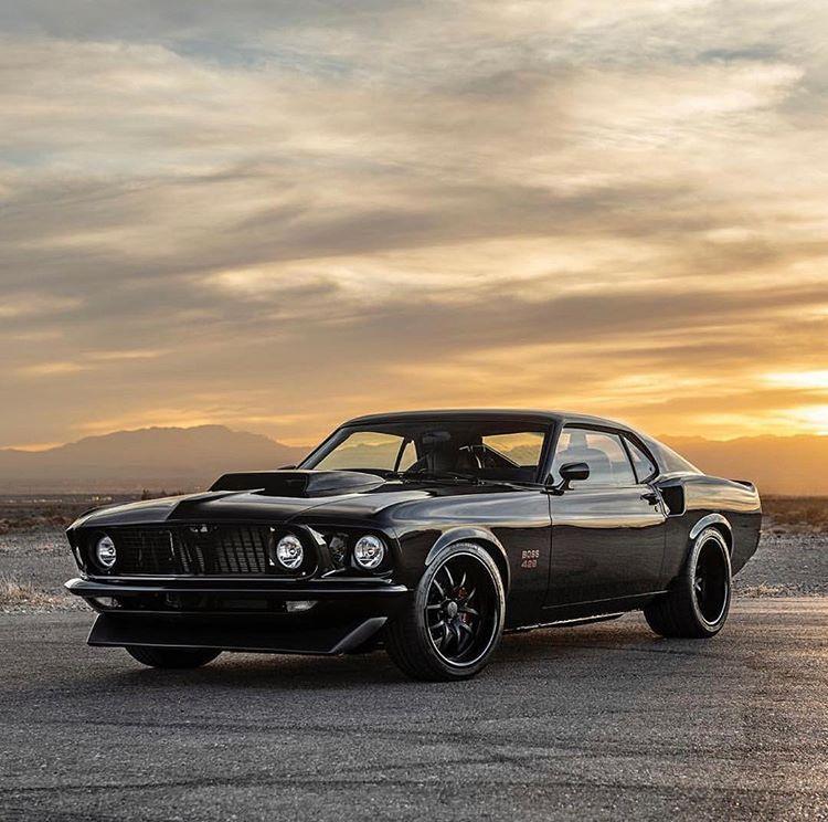 Classic Recreations 1969 Boss 429 Mustang, fotografiert für @classicrecreations …