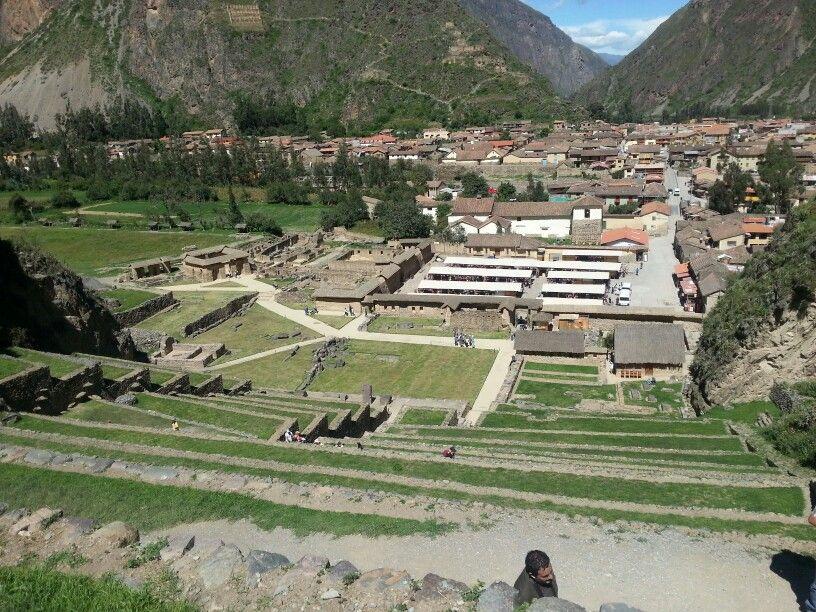 Inca settlement