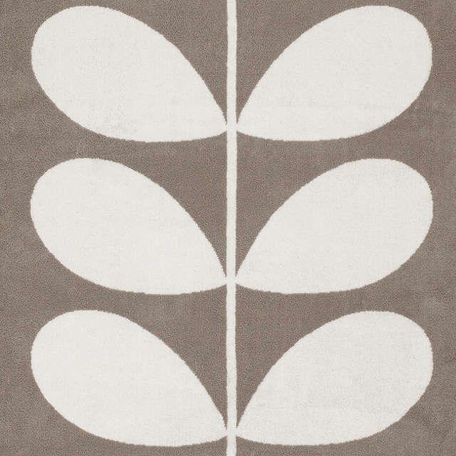 BuyOrla Kiely Stem Jacquard Hand Towel, Grey Online at johnlewis.com