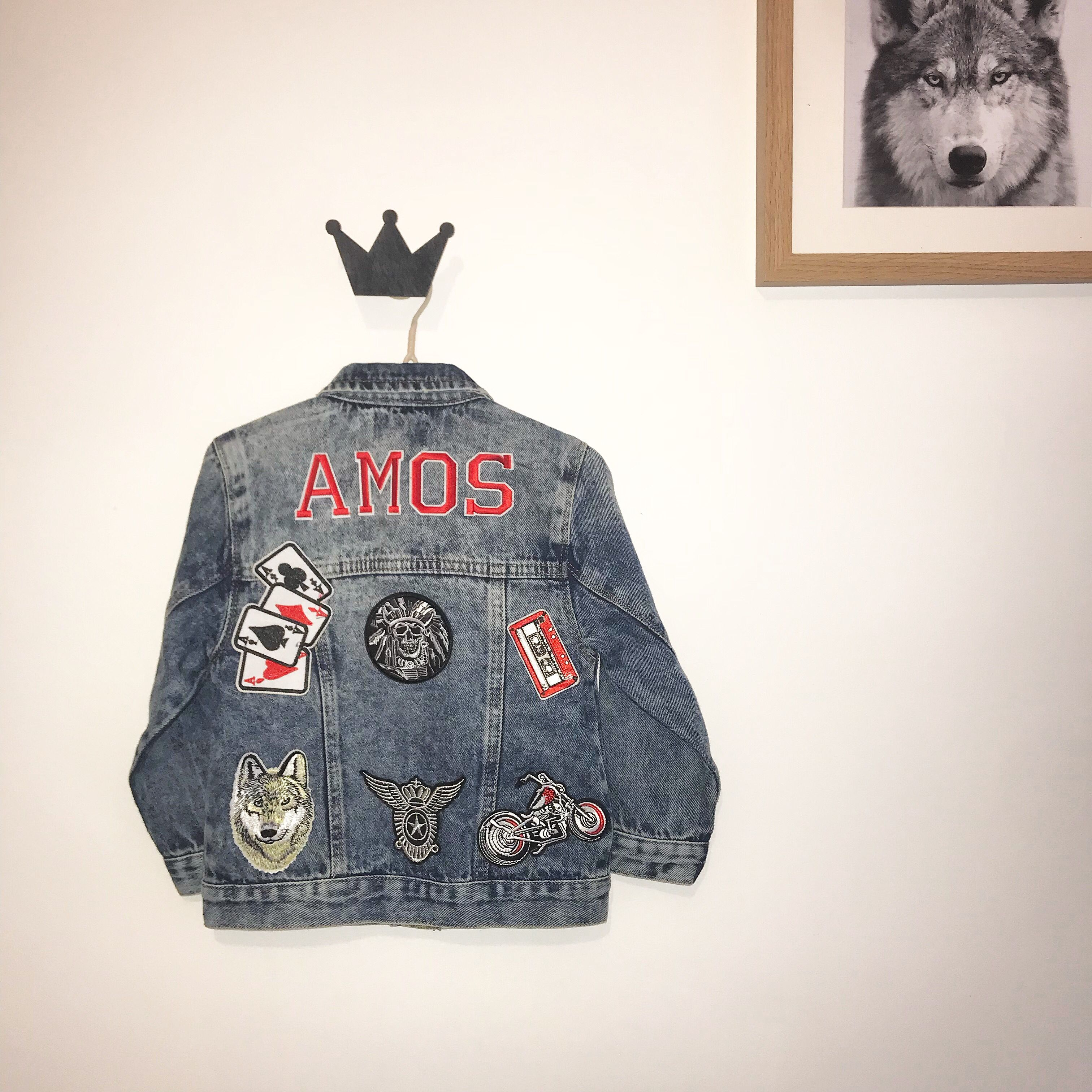 Saint + Soldier custom made personalised denim jacket