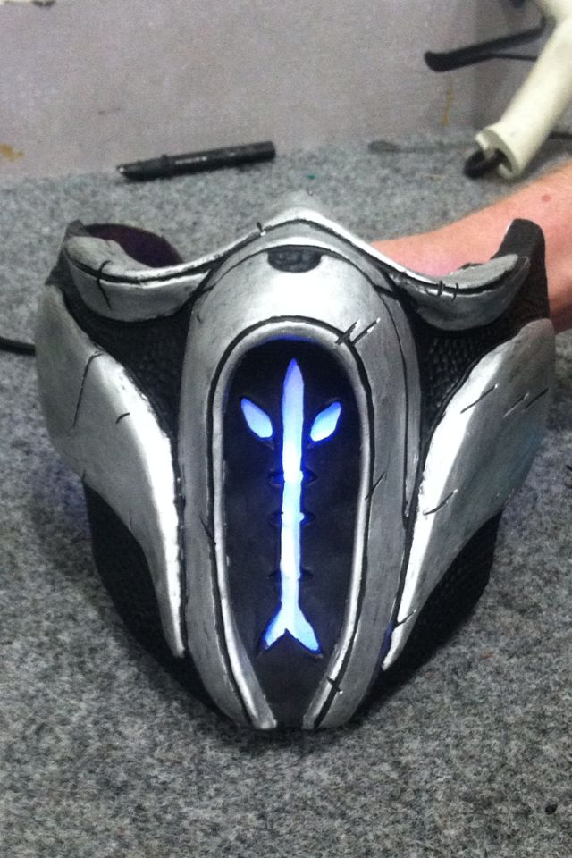 Mortal Kombat X Sub-Zero mask. | Mortal Kombat X ...
