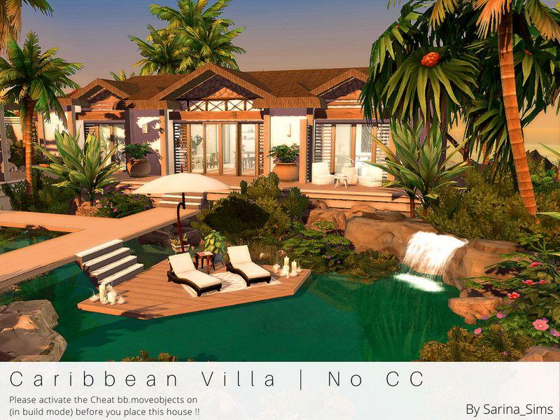 Sarina Sims Caribbean Villa No CC