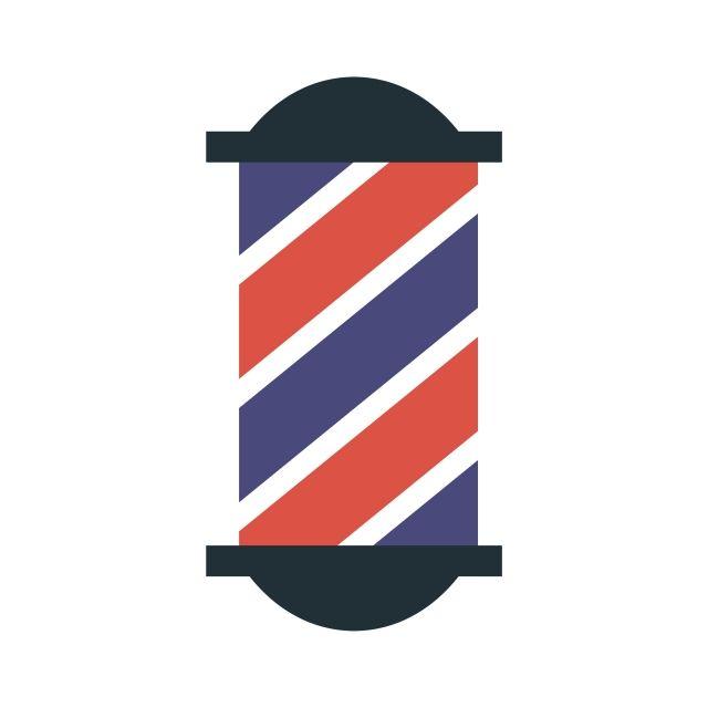 Hipster Barbier, Insigne, Barber, Salon De Coiffure PNG et vecteur pour téléchargement gratuit