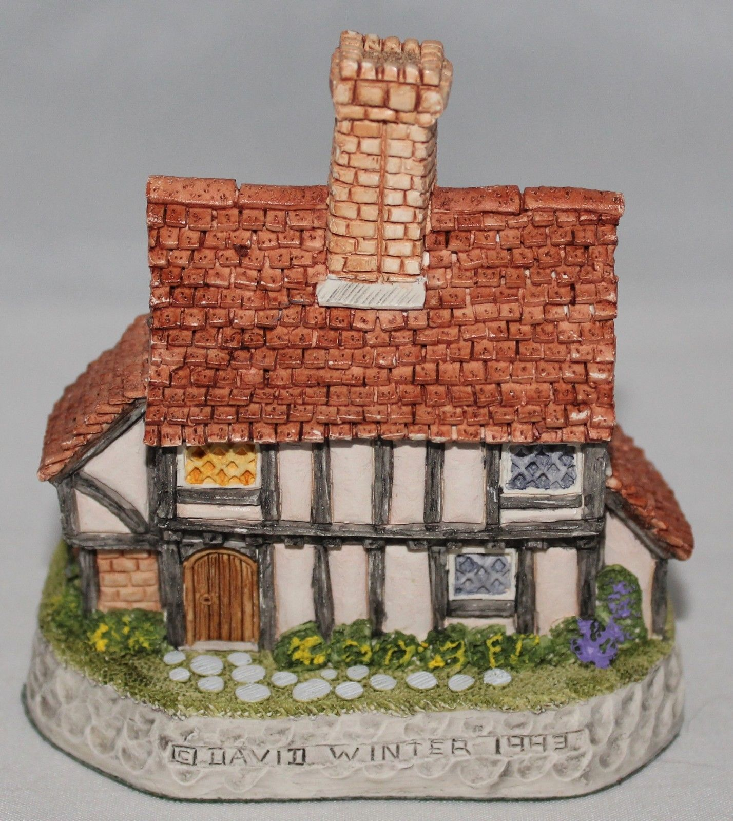 The Rectory David Winter Cottages English Village Collection 1993 English Village Cottage Village