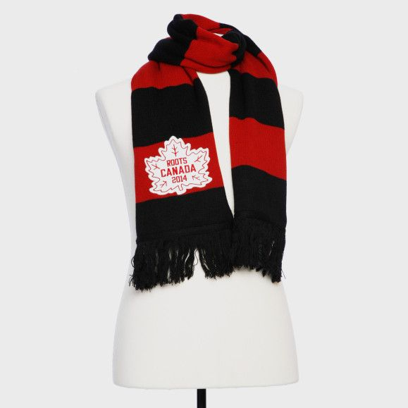 bb15b1795a6 Canada Hockey Stripe Scarf | Women's and Men's Accessories Hats and ...