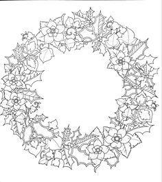 Резултат с изображение за раскраска рамка рождественская ...