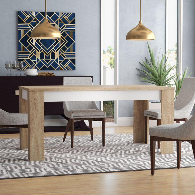 Algedi Dining Table Modern Dining Room Modern Dining Table