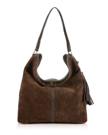 Quebec Suede Hobo Bag | shopping list | Pinterest | Hobo bags ...
