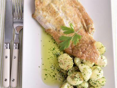 Receta | Lenguado con gratinado de anchoas y alcaparras - canalcocina.es