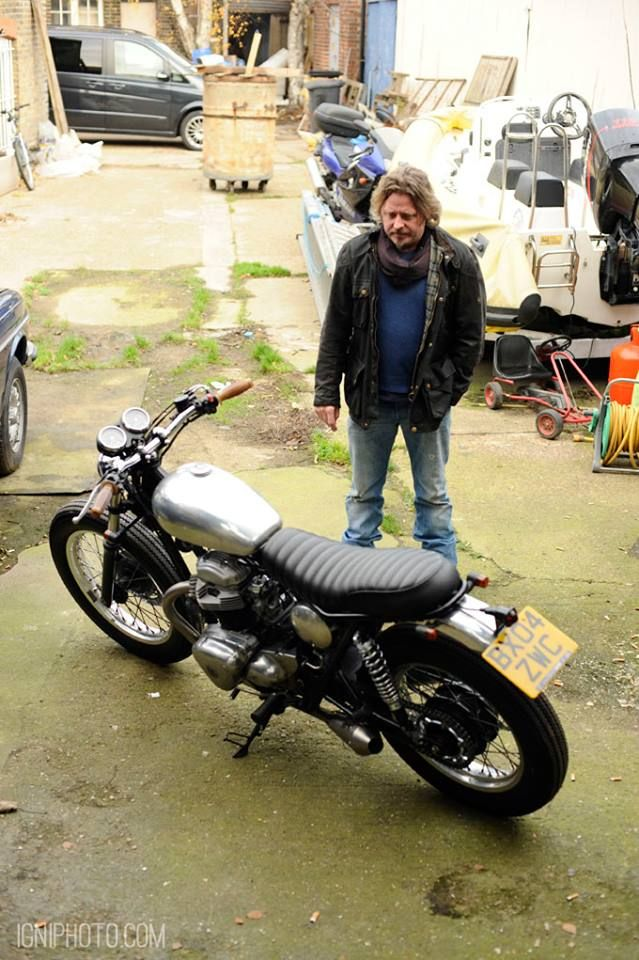 Charley Boorman contemplates the finer things in life.