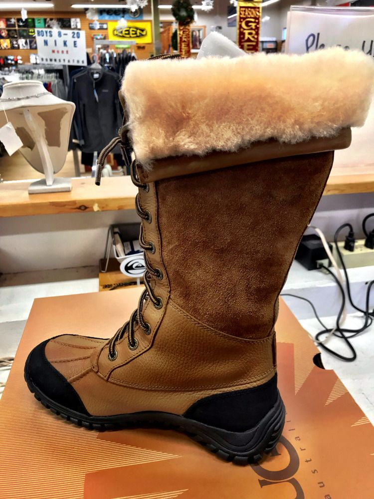 cf7d9a917451 Ugg Adirondack II Tall Boot Various Sizes Available Black   Otter  fashion   clothing  shoes  accessories  womensshoes  boots (ebay link)