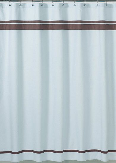 Jojo Designs Shower Curtain  Hotel Collection Blue U0026 Brown | Blue Brown,  Brown And Contemporary