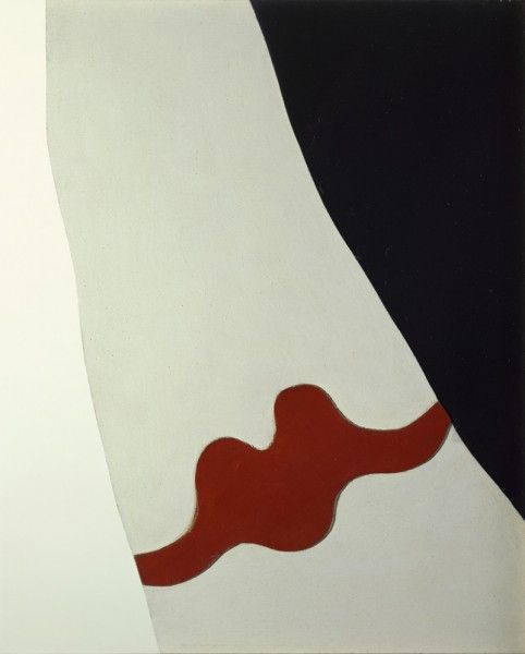 """Jean Hans Arp, the French-German sculptor, painter, collagist, poet and pioneer of abstract art who was a founding member of the Dada movement. ""Arp is Art, exhibition Luxembourg & Dayan's London, 2012."