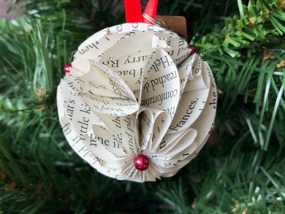 Christmas Story Ornament, Christmas Book, Christmas Books, Rustic