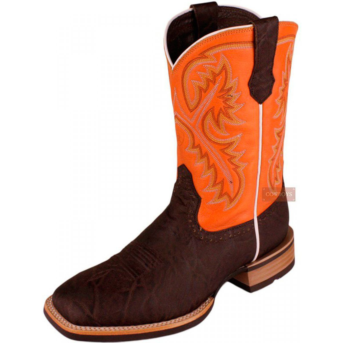 Bota Masculina Chocolate Elephant Ariat Bota masculina country ... 80b689247f4