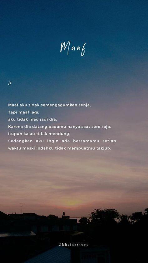 Best Quotes Indonesia Rindu Tumblr 34 Ideas Kata Kata Indah