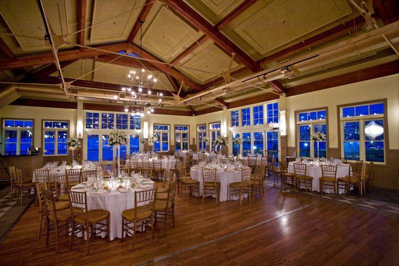 Ballroom At Liberty House Restaurant In Jersey City Nj