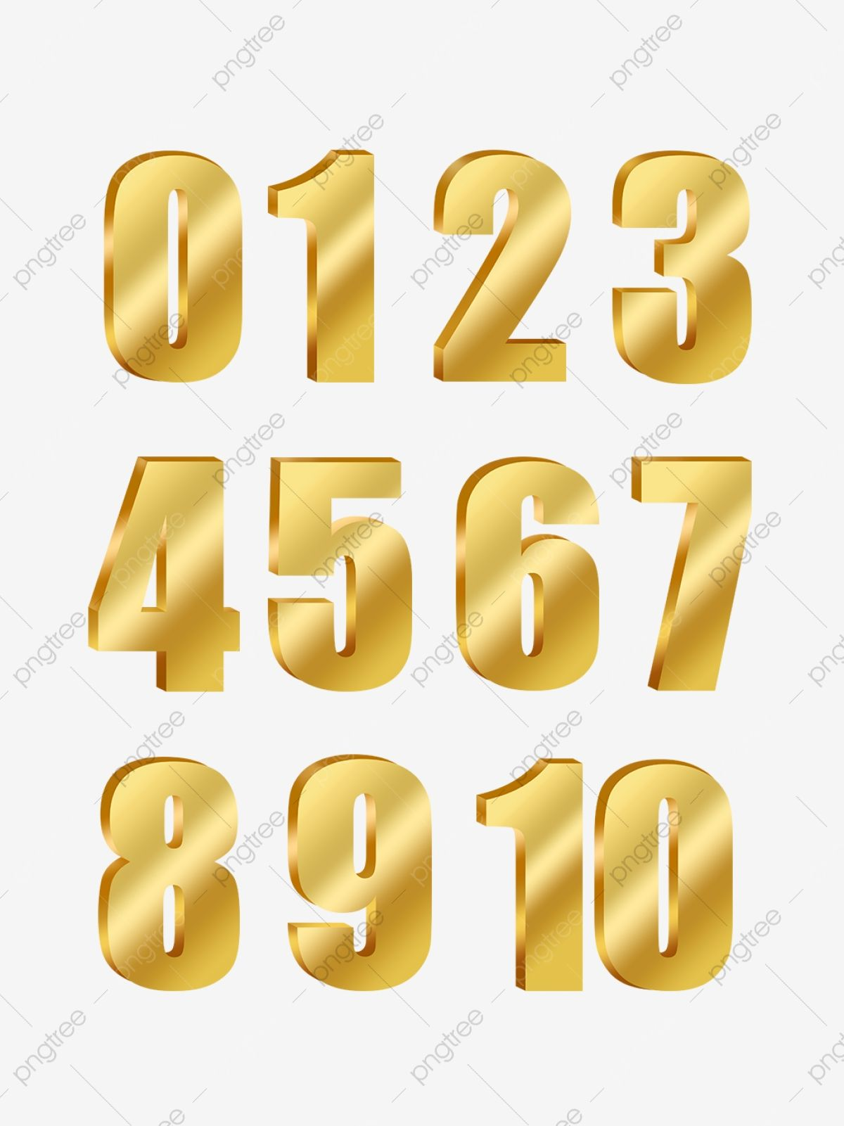 Golden Number Png Transparent Layer Material Golden Number 8 Golden Number 1 Golden Number 2 Png Transparent Clipart Image And Psd File For Free Download Golden Number Photo Cake Topper Numbers Font