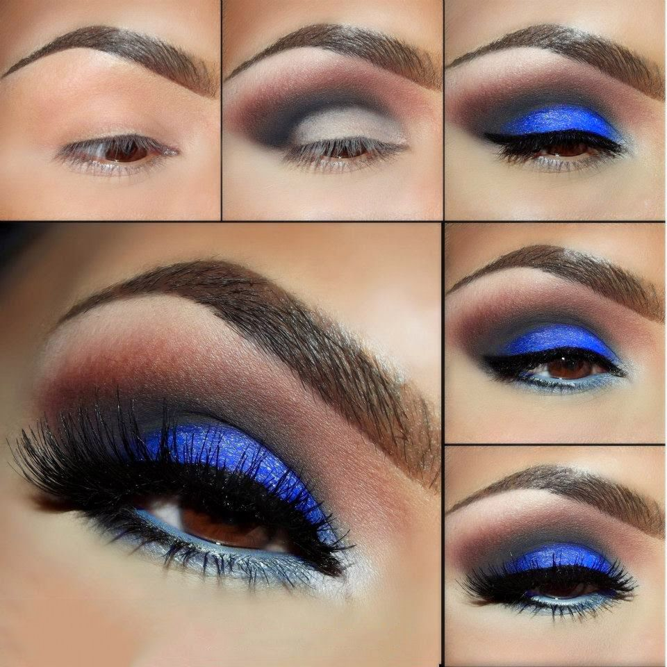 Maquillaje paso a paso como combinar maquillaje de ojo y el color - 20 Ideas De Maquillaje De Noche Para Los Ojos Que Te Har N Lucir Incre Ble En Todas Las Fiestas