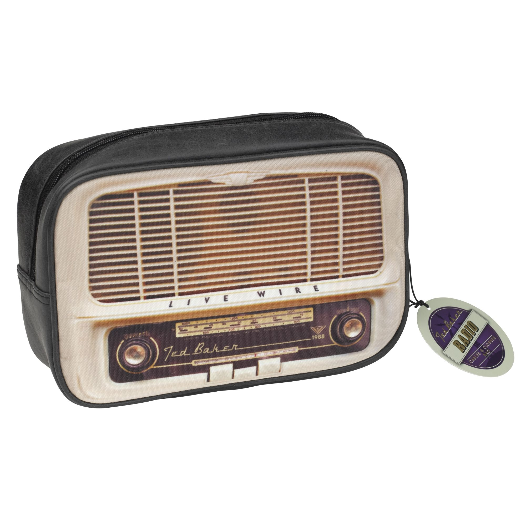 Shopcaster Com Ted Baker Radio Toiletry Bag Retro