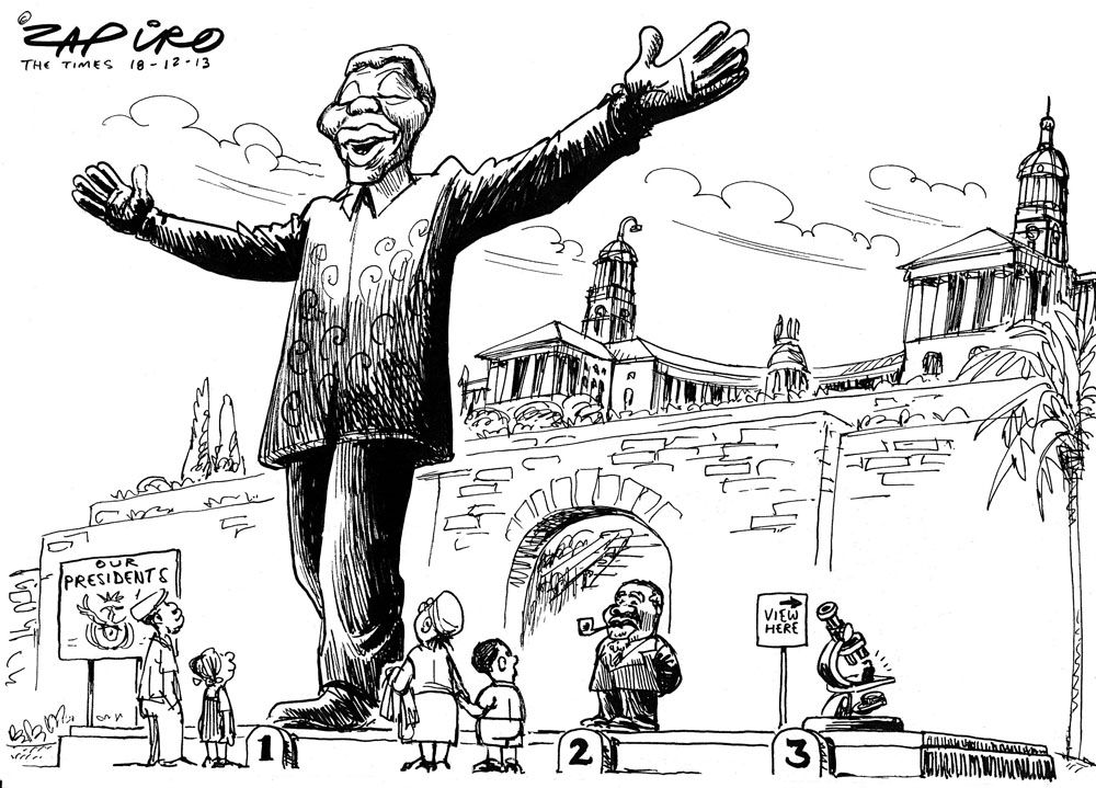 Latest zapiro cartoon south africa