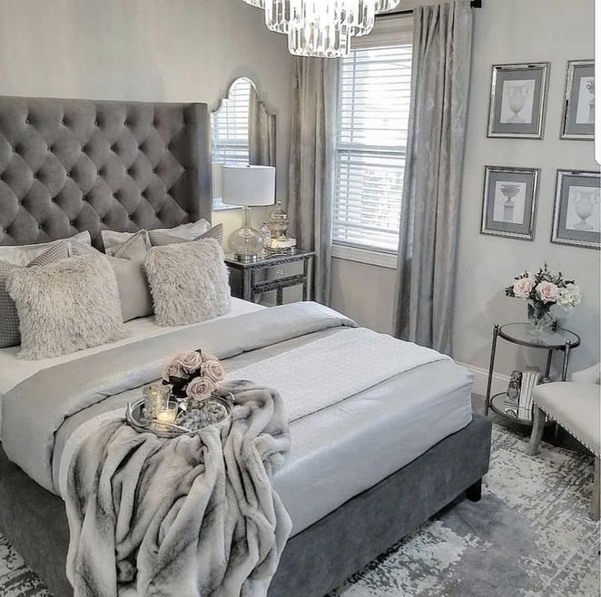 36 Introducing Grey Upholstered Bed Bedroom Ideas Inspirabytes Com Bedroom Interior Home Decor Bedroom Bedroom Decor