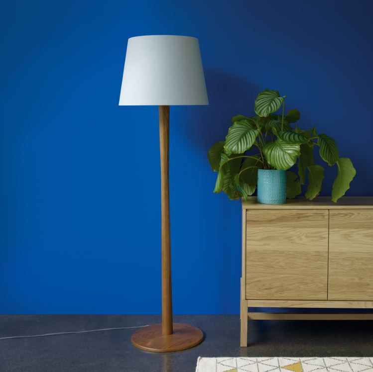 Pin By Sam Walker On Colour Oak Floor Lamp Floor Lamp Solid Oak Floors