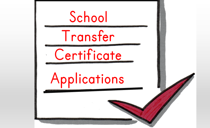 Application for Transfer Certificate from School with PDF