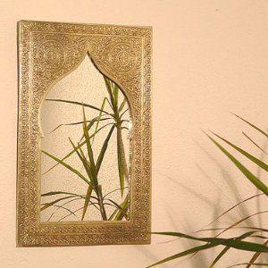 Orientalischer Silberspiegel Casi S Amazon De Kuche Haushalt