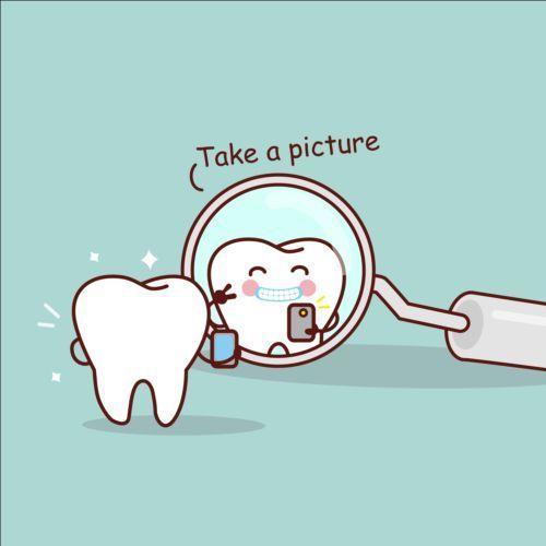 Cute Cartoon Tooth Design Vector 01 Www Welovesolo Co