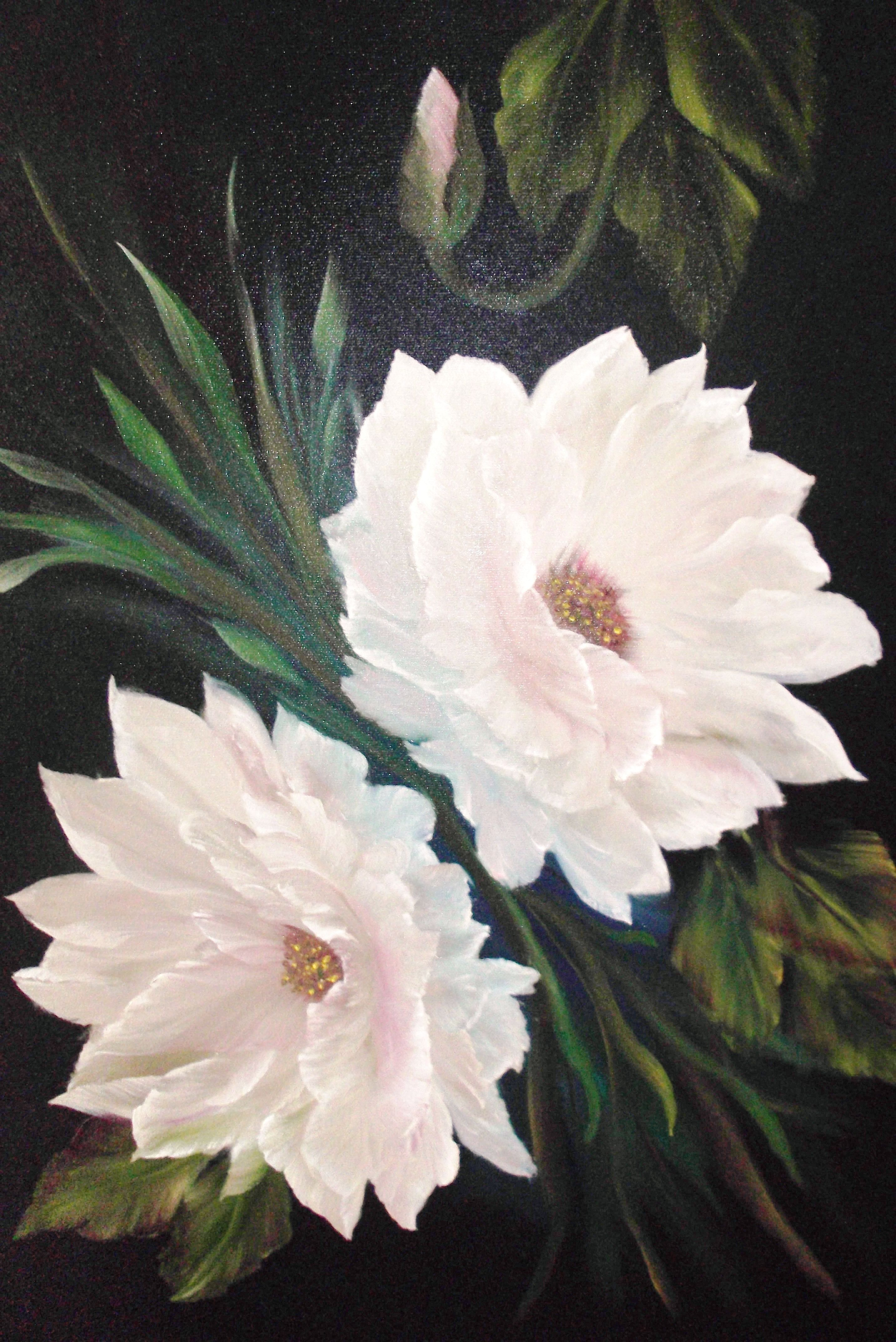White flowers painted 10 03 12 painted flowers pinterest white white flowers painted 10 03 12 mightylinksfo