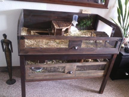 meerschweink fig kaninchenk fig gehege nagerk fig meerschweingehe in sachsen anhalt. Black Bedroom Furniture Sets. Home Design Ideas