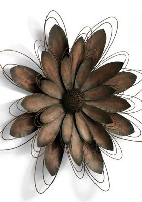 faef687bd2 Metal Flower Artwork. | All For The Wall | Metal flowers, Metal ...