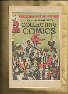 #Marvel #guide to collecting comics 1982 vfn marvel comics rare promo #giveaway,  View more on the LINK: http://www.zeppy.io/product/gb/2/221967120419/